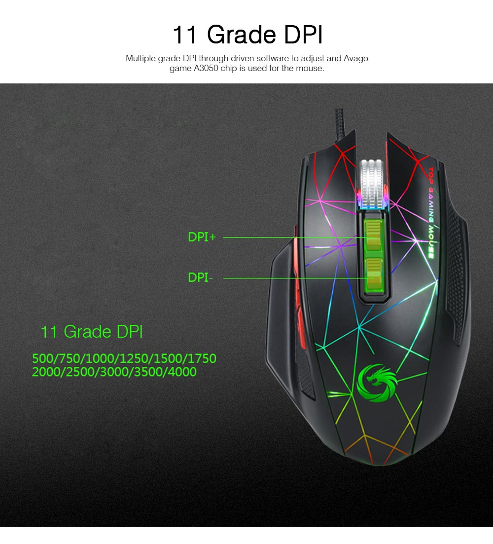 Mechanical Mouse for PUBG Game Optical Mouse Wireless Opto-mechanical Mouse Wired Mouse 3