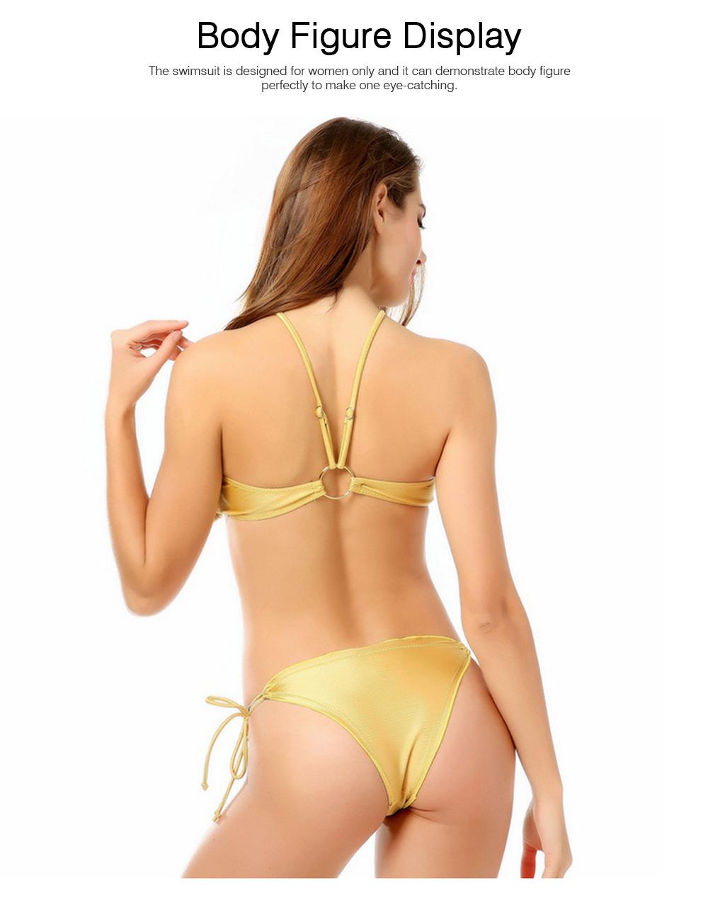 Mercerized Cloth Swimsuits for Women New Style Swimsuit Cover Ups Girls Bikini Swimwear 4