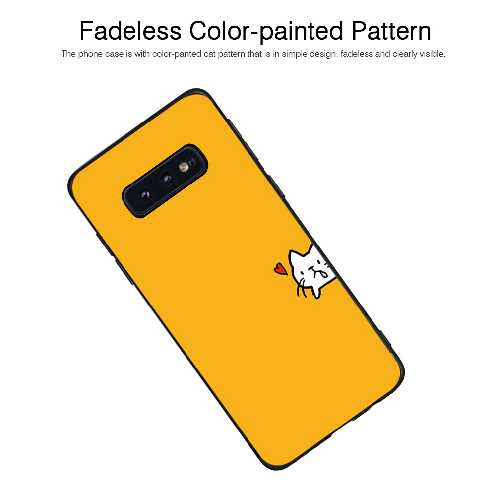 Soft Phone Case for Galaxy S9 Plus, Silicone S10 Plus Protective Phone Case S8 Plus Color Painted Phone Case 2