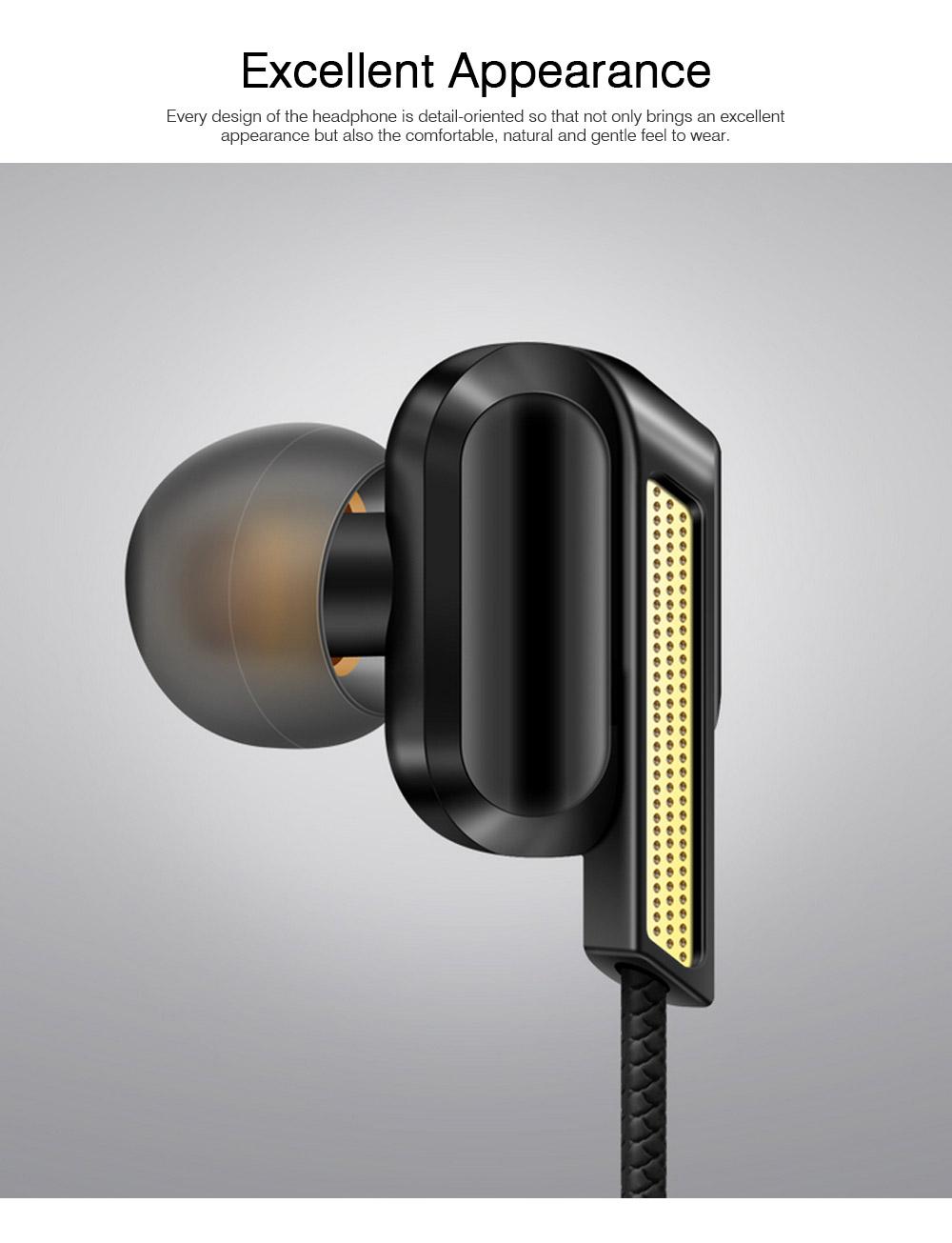 In-Ear Headphones for Original Huawei Phones iPhone Vivo OPPO SoundSport Headphones with Mic Wired In-ear Earphone 4