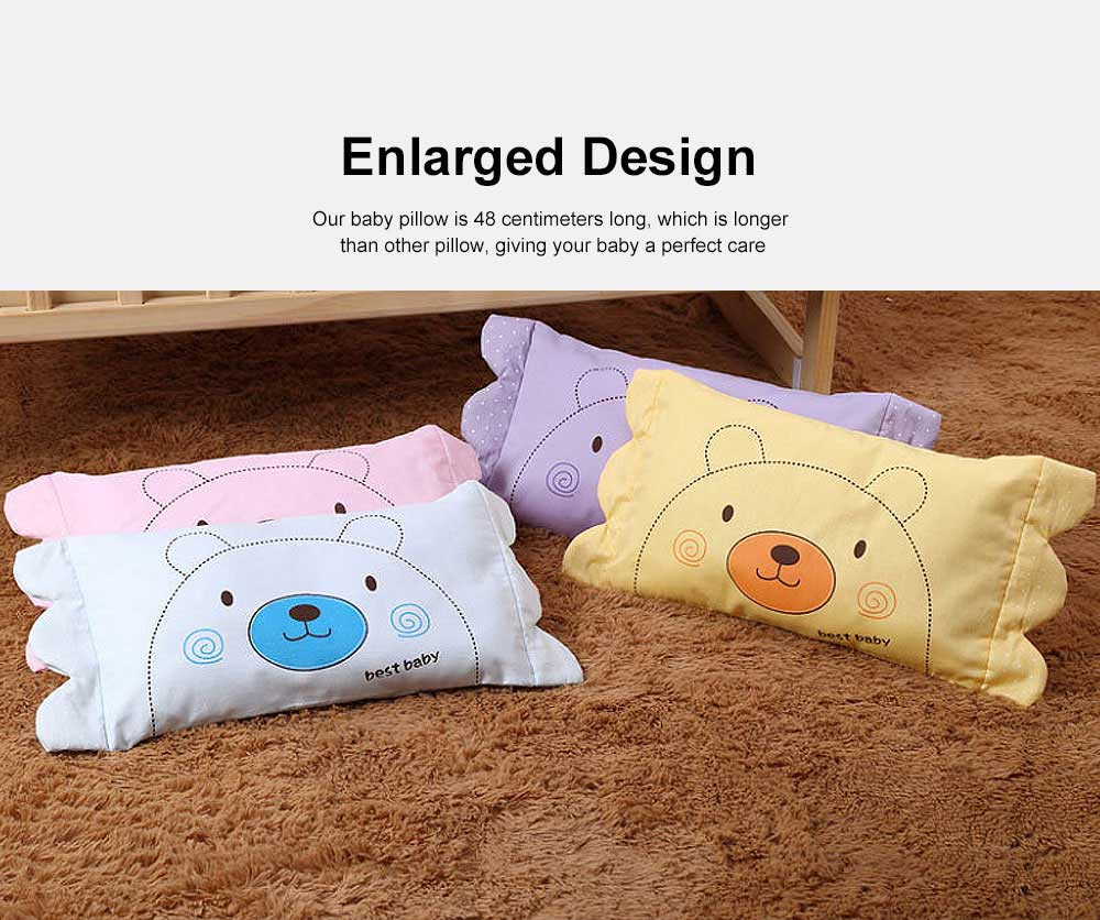 New Born Baby Pillow Neck Care Fixed Shape Design Enlarged Version Baby Care Pillow 3