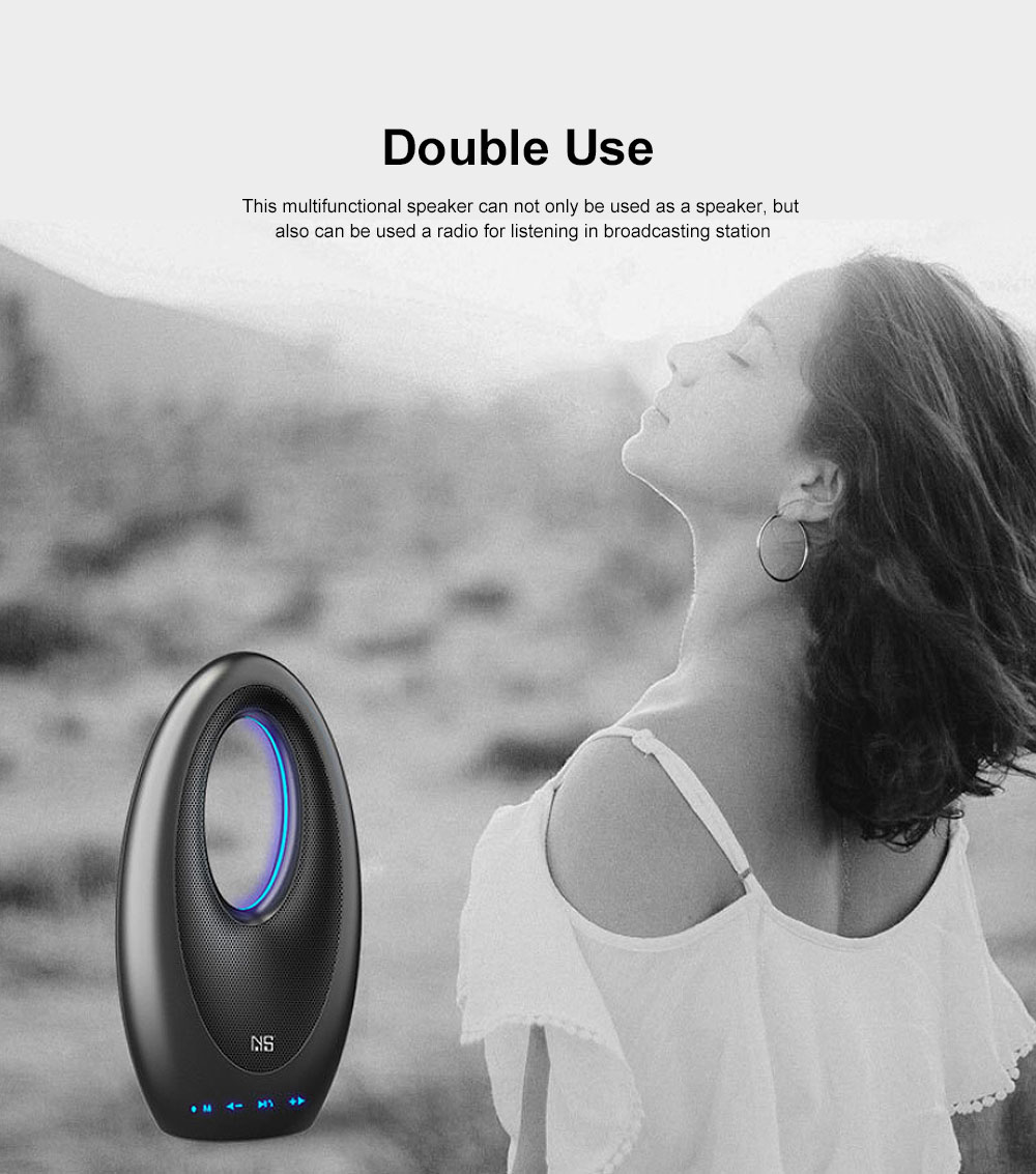 Tinkleo Wireless Bluetooth Speaker Innovative Multifunctional Audio Speaker with Large Capacity Battery 4