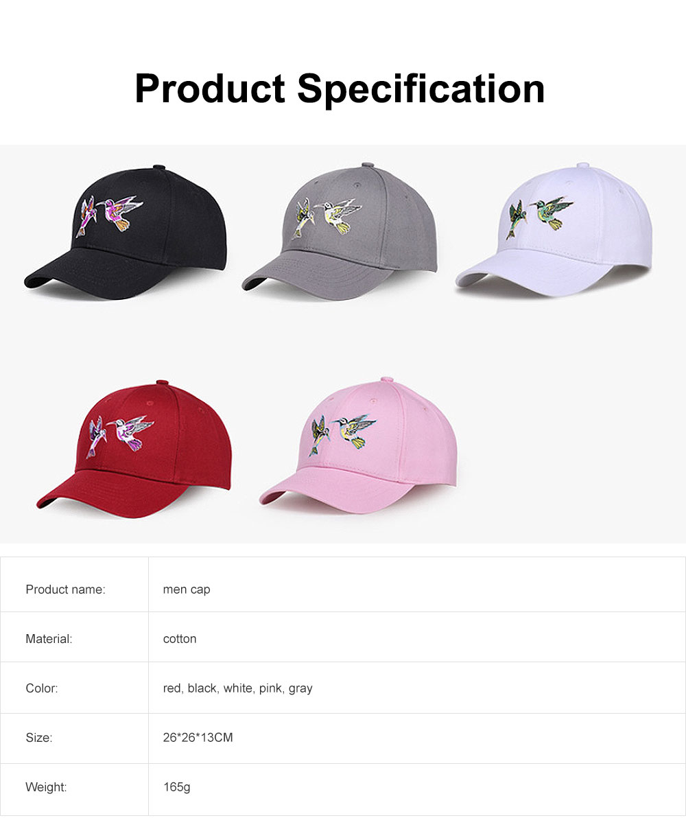 Embroider Hats Cool Baseball Cap Hip Hop Casquette with Adjustable Buckle Cotton Polo Style Plain Caps 6