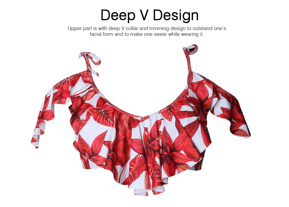 Chinlon Trimming Swimsuits for Women New Style Swimsuit Cover Ups for Girls Best-selling Bikini Swimwear 2