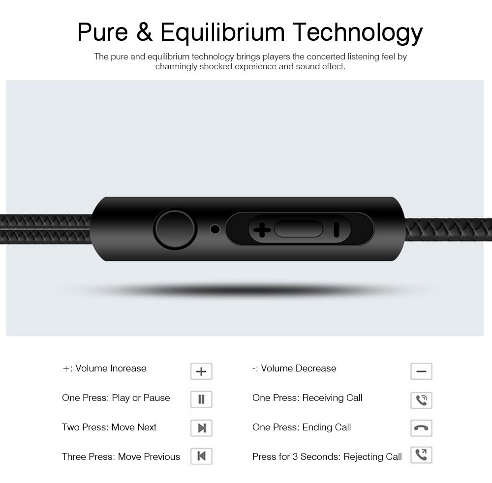 In-Ear Headphones for Original Huawei Phones iPhone Vivo OPPO SoundSport Headphones with Mic Wired In-ear Earphone 5