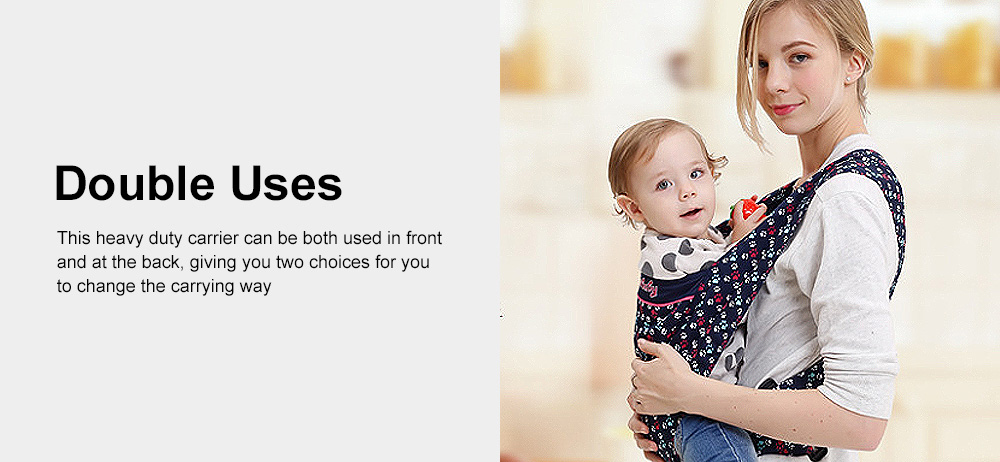 Simple Comfortable Baby Carrier Multiple Carrying Ways Natural Breathable Soft Carriers 1