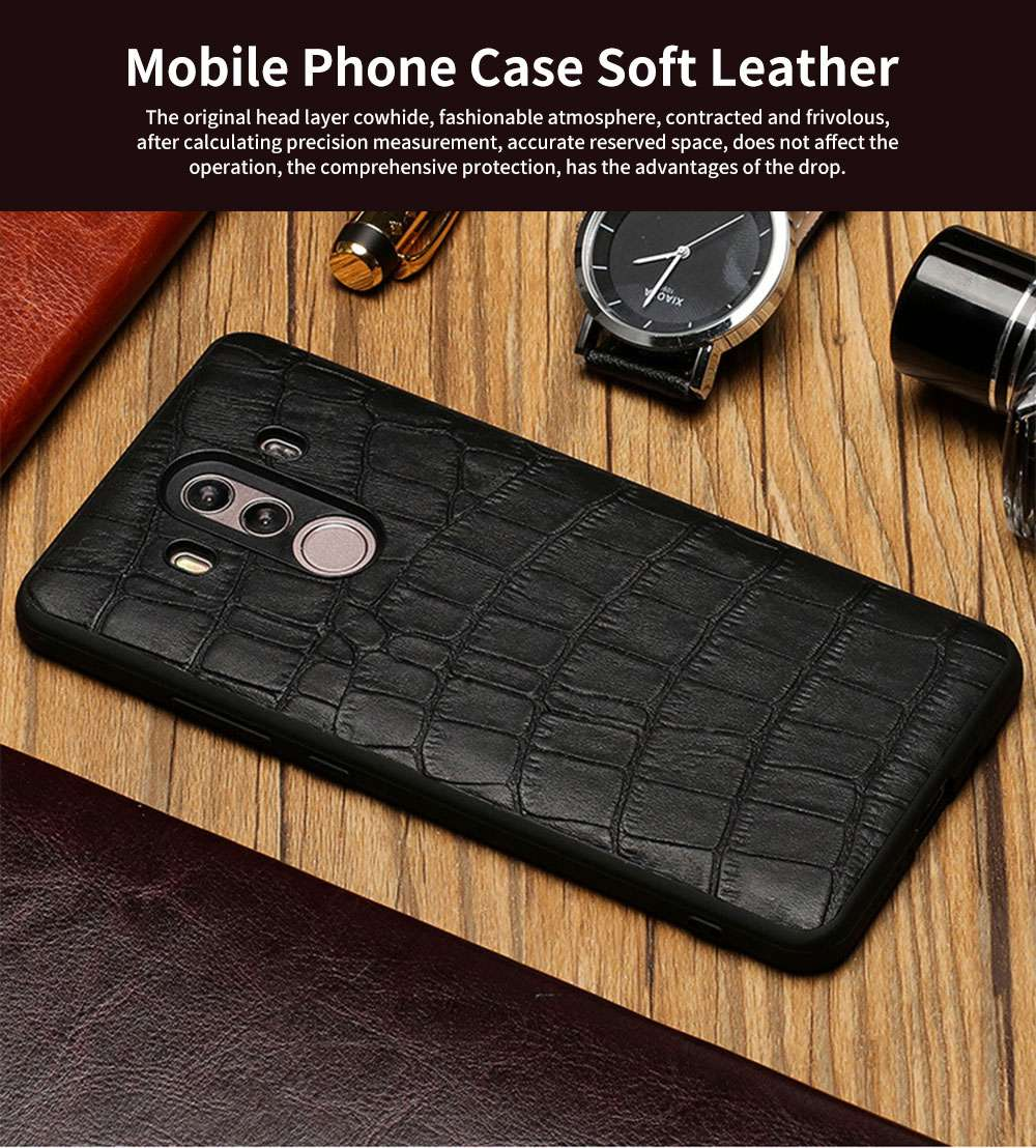 New Leather Mobile Phone Case for Huawei Mate10, 20x, Classic Non-Slip Phone Case for Huawei Mate 20 pro 0