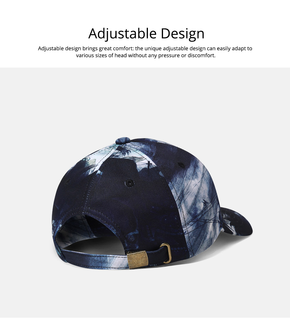 3D Printed Hip-hop Cap for Man, Fashion Cap for Woman, Original Spring/Summer Baseball Cap 5