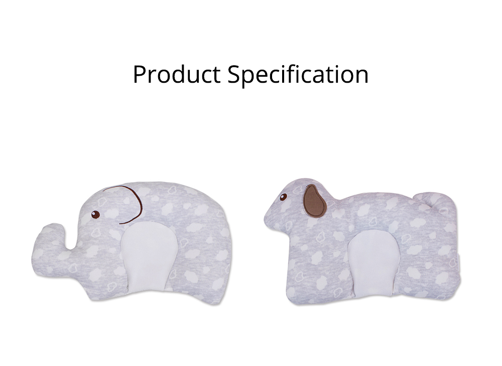 New-designed Head-shaping Pillow for Baby, U-shaped Pillow Made of Milk Silk, Children Pillow for Correcting Plagiocephaly 9