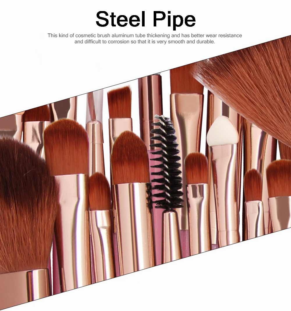25 PCS Complete Makeup Brushes Set, Professional Beauty Makeup Brushes Hot Selling Makeup Tool 2