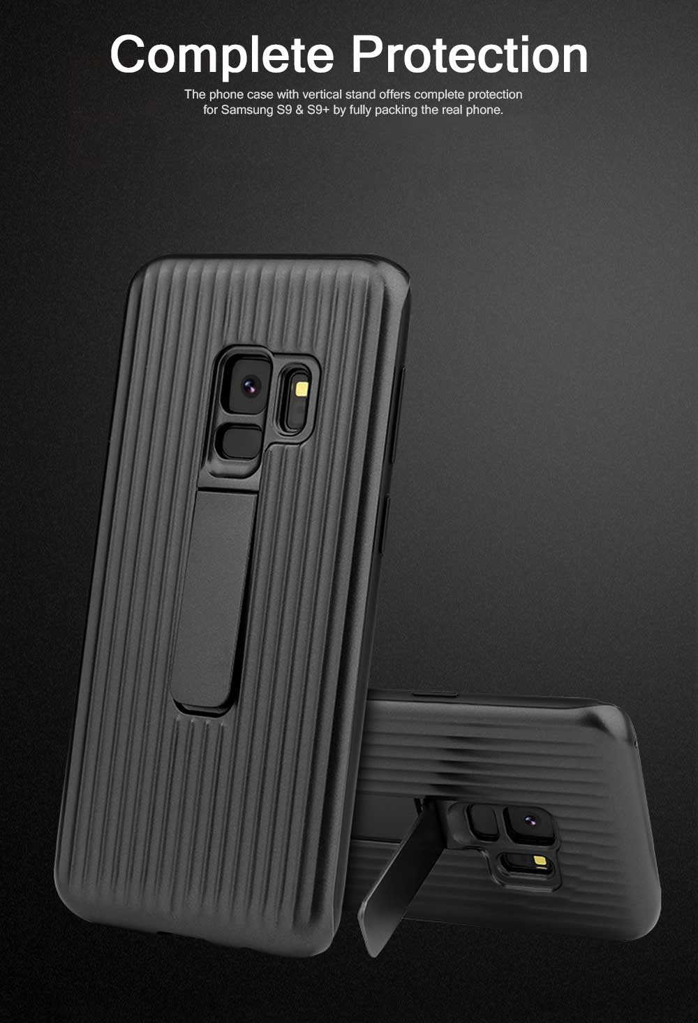 New-style Samsung Phone Case for Galaxy S9 & S9 Plus Vehicle-Mounted Protective Case Vertical Support Phone Case 1