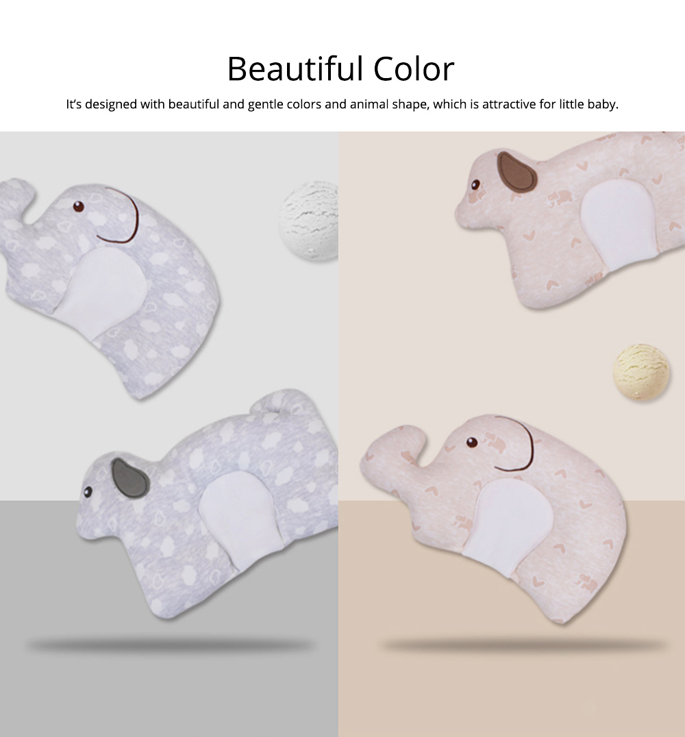 New-designed Head-shaping Pillow for Baby, U-shaped Pillow Made of Milk Silk, Children Pillow for Correcting Plagiocephaly 7