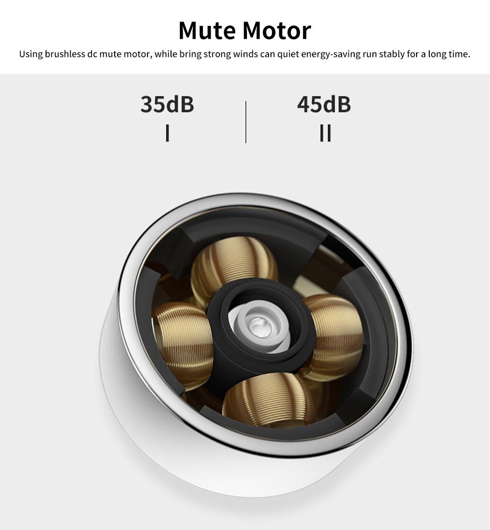 USB Rechargeable Camera Fan, Outdoor Portable Pocket Fan, Ultra-thin Handheld Mini Fan, Silent Compact Fan 5