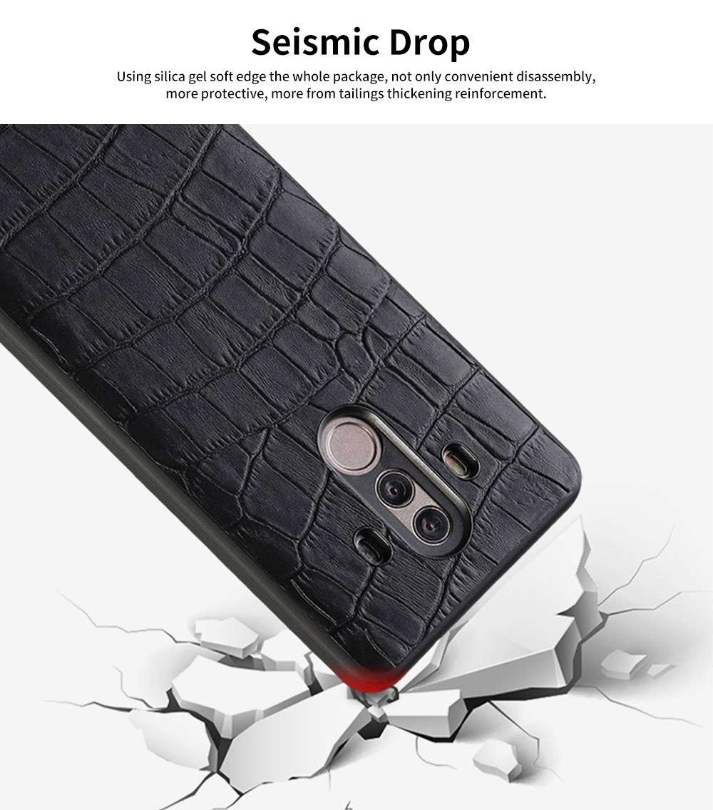 New Leather Mobile Phone Case for Huawei Mate10, 20x, Classic Non-Slip Phone Case for Huawei Mate 20 pro 5