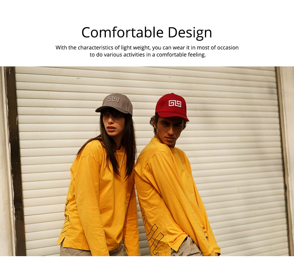 Woman's Cotton Peaked Cap for Spring & Summer, Korean Style Embroidered Man's Baseball Cap 3
