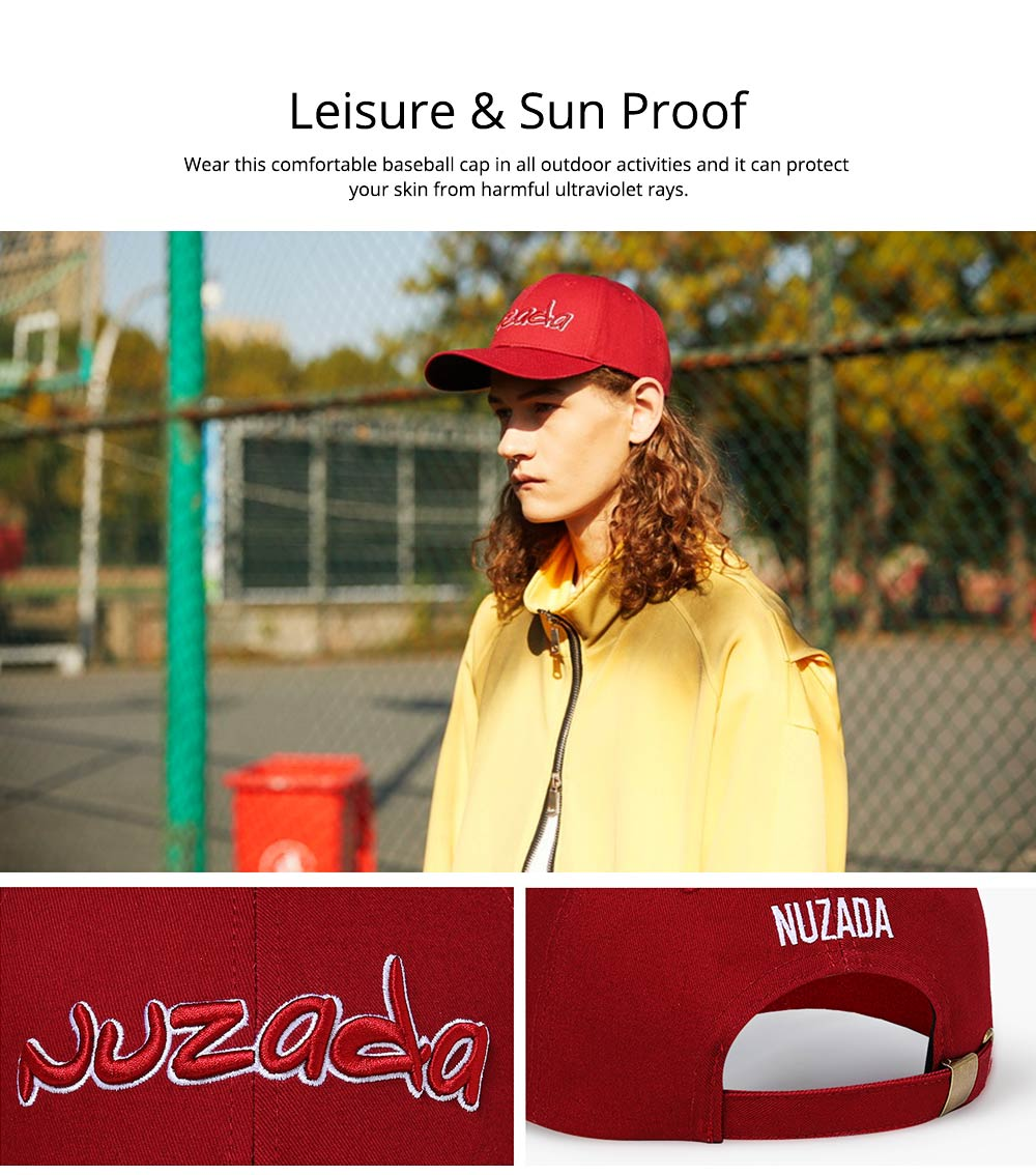 Baseball Cap with Alphabet, Fashion Flat-brimmed Hip-hop Hat, Sports Cap for Man and Woman 1