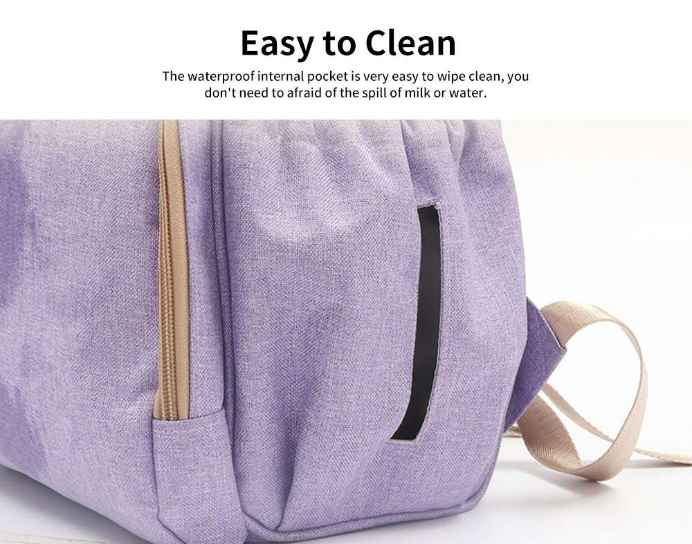 Large Baby Diaper Backpack Multi-Functional, Waterproof, Stylish and Durable Travel Diaper Bags for Mom, Dad 5