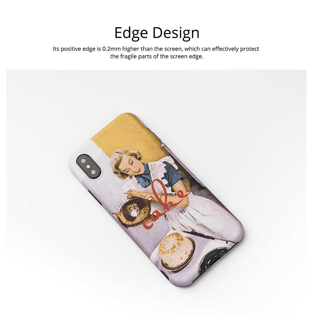 Oil Painting iPhone Case for 6/6s, 6p/6sp, 7p/8p, X/XS, XR 7