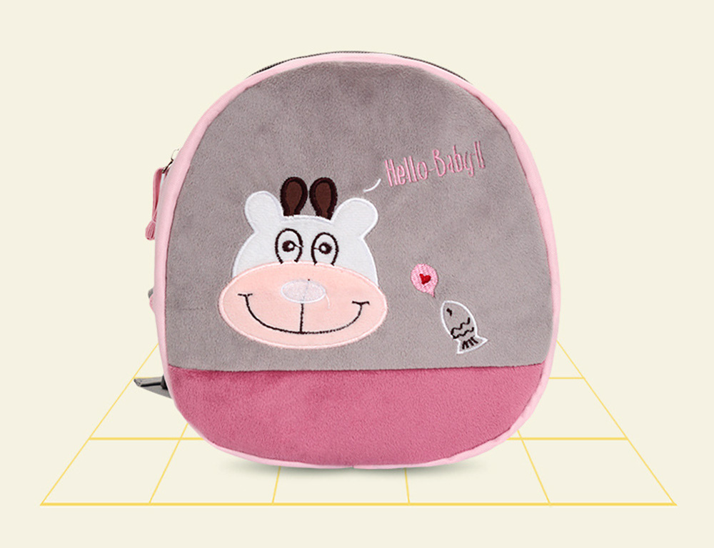 Mini Baby Cartoon Bag for Preventing Lost, Children's Backpack with Anti-loss Traction Cord 5