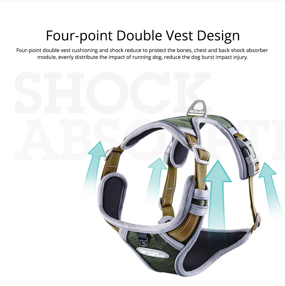 Easy Control Comfort Harness Four Points of Adjustment Dog Harness 6