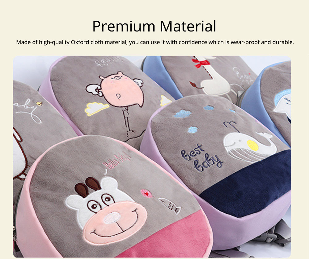 Mini Baby Cartoon Bag for Preventing Lost, Children's Backpack with Anti-loss Traction Cord 1