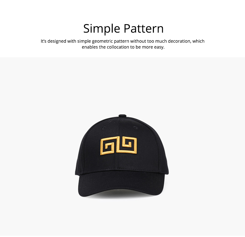 Woman's Cotton Peaked Cap for Spring & Summer, Korean Style Embroidered Man's Baseball Cap 4