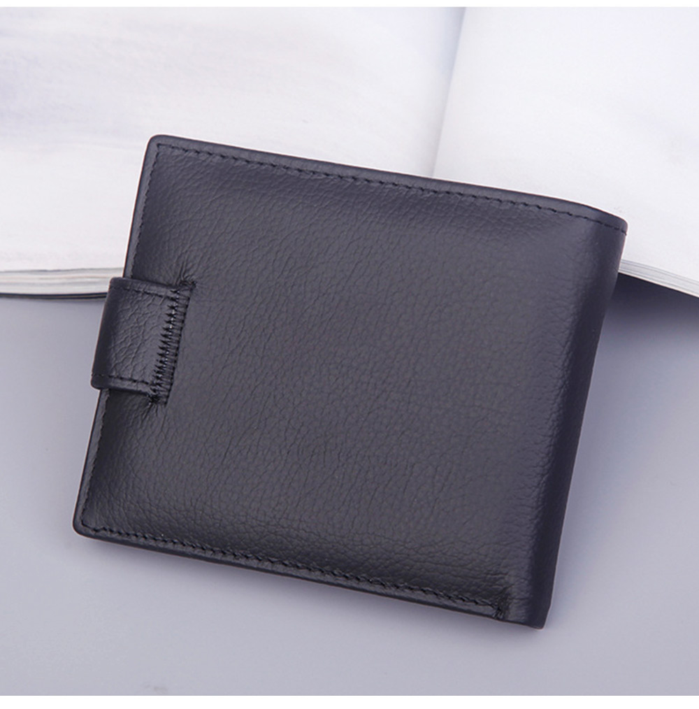 Beautiful Buckle Money Clip with Multiple Cards & Smooth Zipper & Large Capacity Design for Men 5