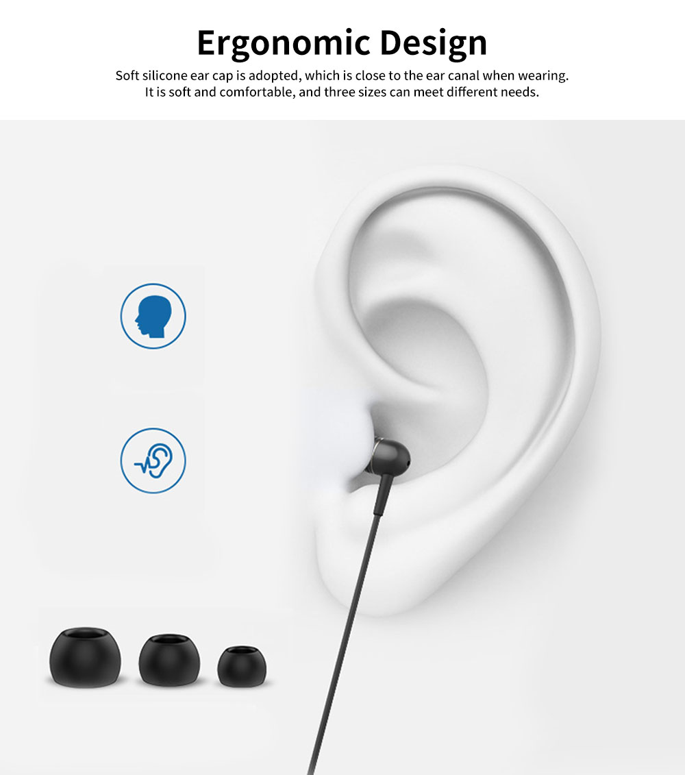 Subwoofer In-ear Headphones, High-quality Subwoofer Noise-reducing Earphone, Headphones for Notebook Wired Singing 4
