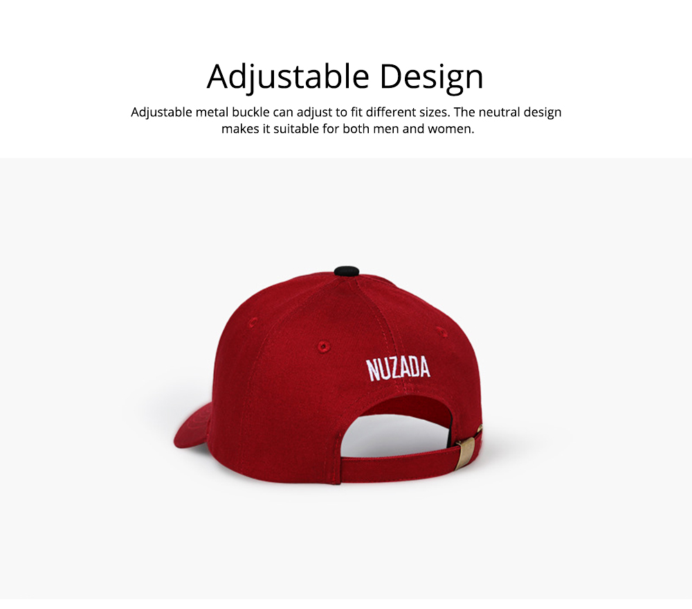 Baseball Cap with Alphabet, Fashion Flat-brimmed Hip-hop Hat, Sports Cap for Man and Woman 2