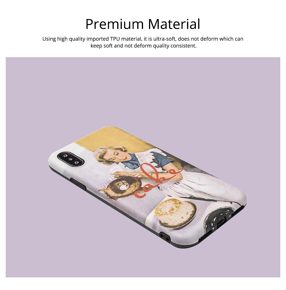 Oil Painting iPhone Case for 6/6s, 6p/6sp, 7p/8p, X/XS, XR 1