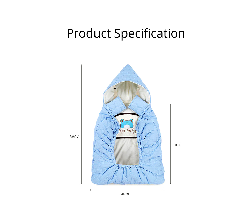 Thickened Baby Cartoon Cloak, Windbreak Cloak for Going Outside, Cape Coat for Newborn Children 8