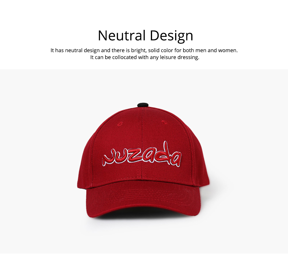 Baseball Cap with Alphabet, Fashion Flat-brimmed Hip-hop Hat, Sports Cap for Man and Woman 6