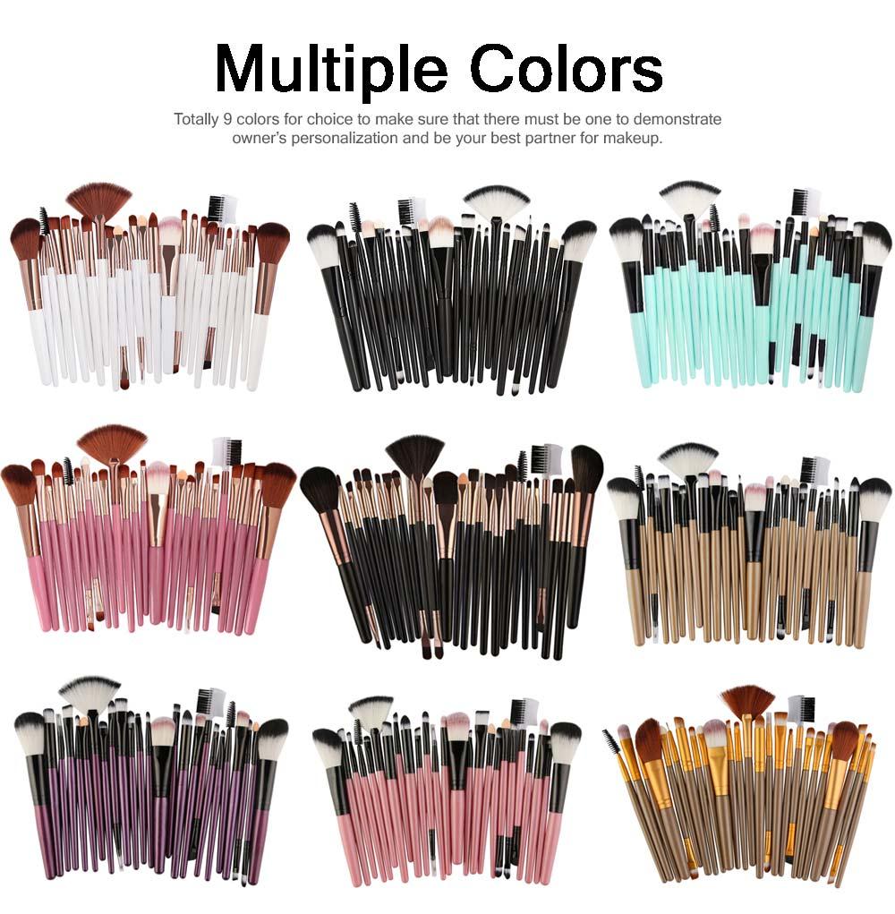 25 PCS Complete Makeup Brushes Set, Professional Beauty Makeup Brushes Hot Selling Makeup Tool 5