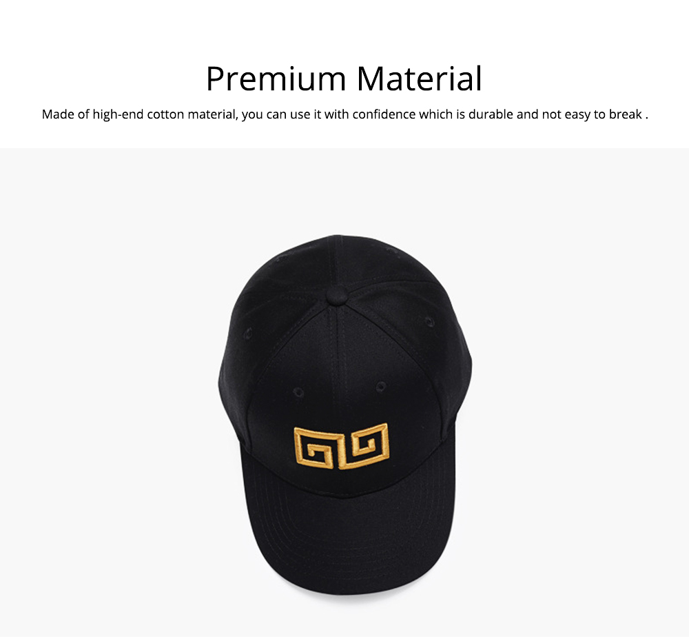 Woman's Cotton Peaked Cap for Spring & Summer, Korean Style Embroidered Man's Baseball Cap 1