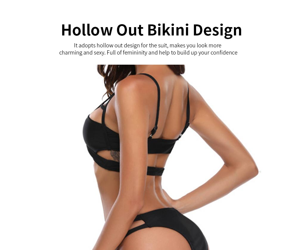 Sexy Lace High-prong Swimsuit, High Cut Low Back One-piece Swimwear, Sexy Illusion Swimming Suits with Beautiful Back 2