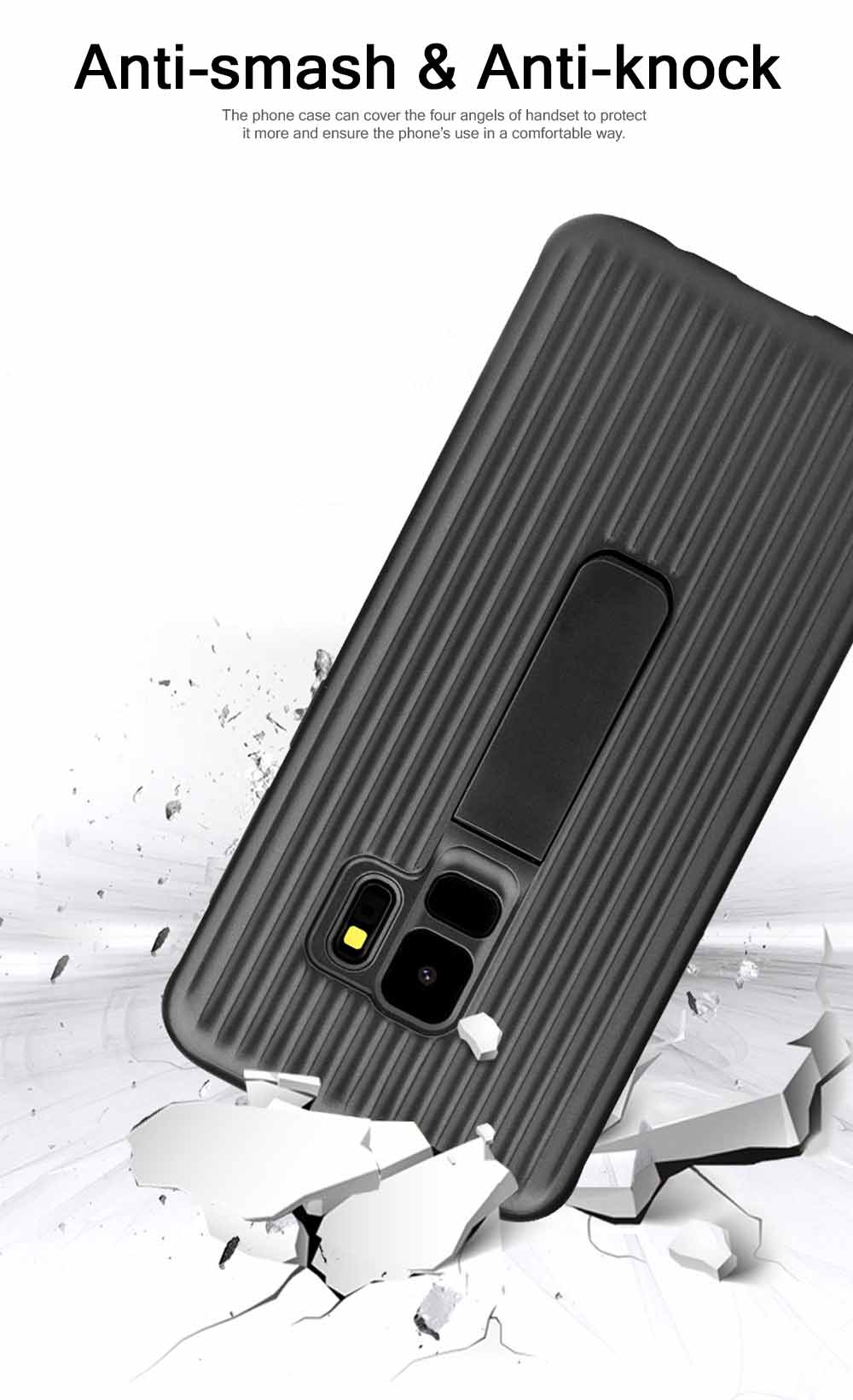 New-style Samsung Phone Case for Galaxy S9 & S9 Plus Vehicle-Mounted Protective Case Vertical Support Phone Case 5
