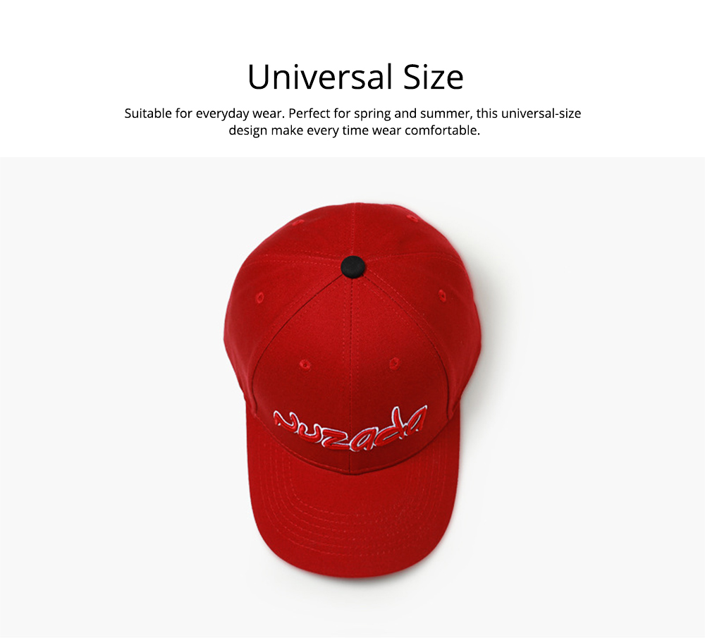 Baseball Cap with Alphabet, Fashion Flat-brimmed Hip-hop Hat, Sports Cap for Man and Woman 3