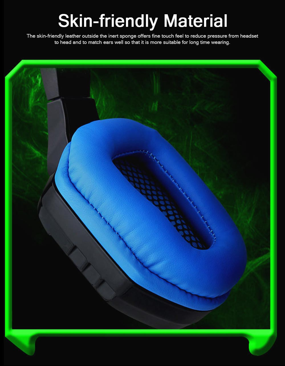 Headset with Microphone for Gaming Headset Luminous Headset Mega Bass Headphone Crack Luminous Headphone 1
