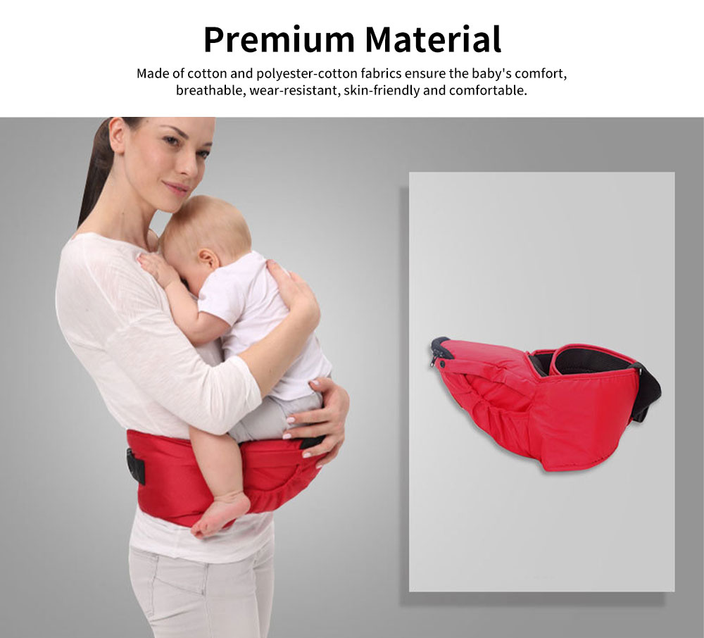 Front Carriers Baby Waist Stool Multifunctional Comfortable 4 Seasons Universal Detachable Baby Carriers Backpack 3