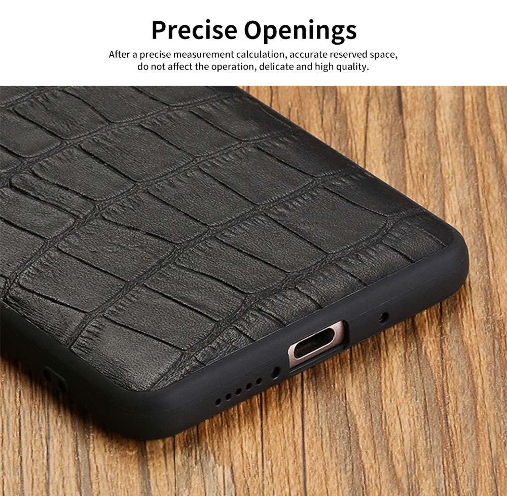 New Leather Mobile Phone Case for Huawei Mate10, 20x, Classic Non-Slip Phone Case for Huawei Mate 20 pro 3