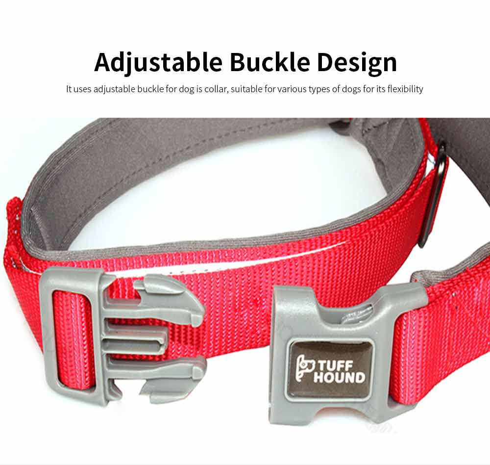 Reflective Dog Collar, Adjustable Pet Necklace, Multicolor Pet Necklace Hauling Rope 4