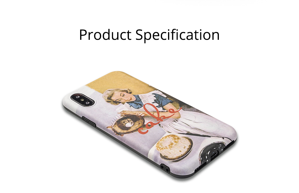 Oil Painting iPhone Case for 6/6s, 6p/6sp, 7p/8p, X/XS, XR 8