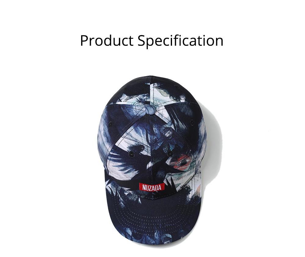 3D Printed Hip-hop Cap for Man, Fashion Cap for Woman, Original Spring/Summer Baseball Cap 6