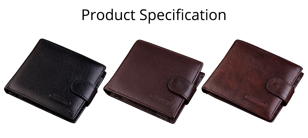 Beautiful Buckle Money Clip with Multiple Cards & Smooth Zipper & Large Capacity Design for Men 7