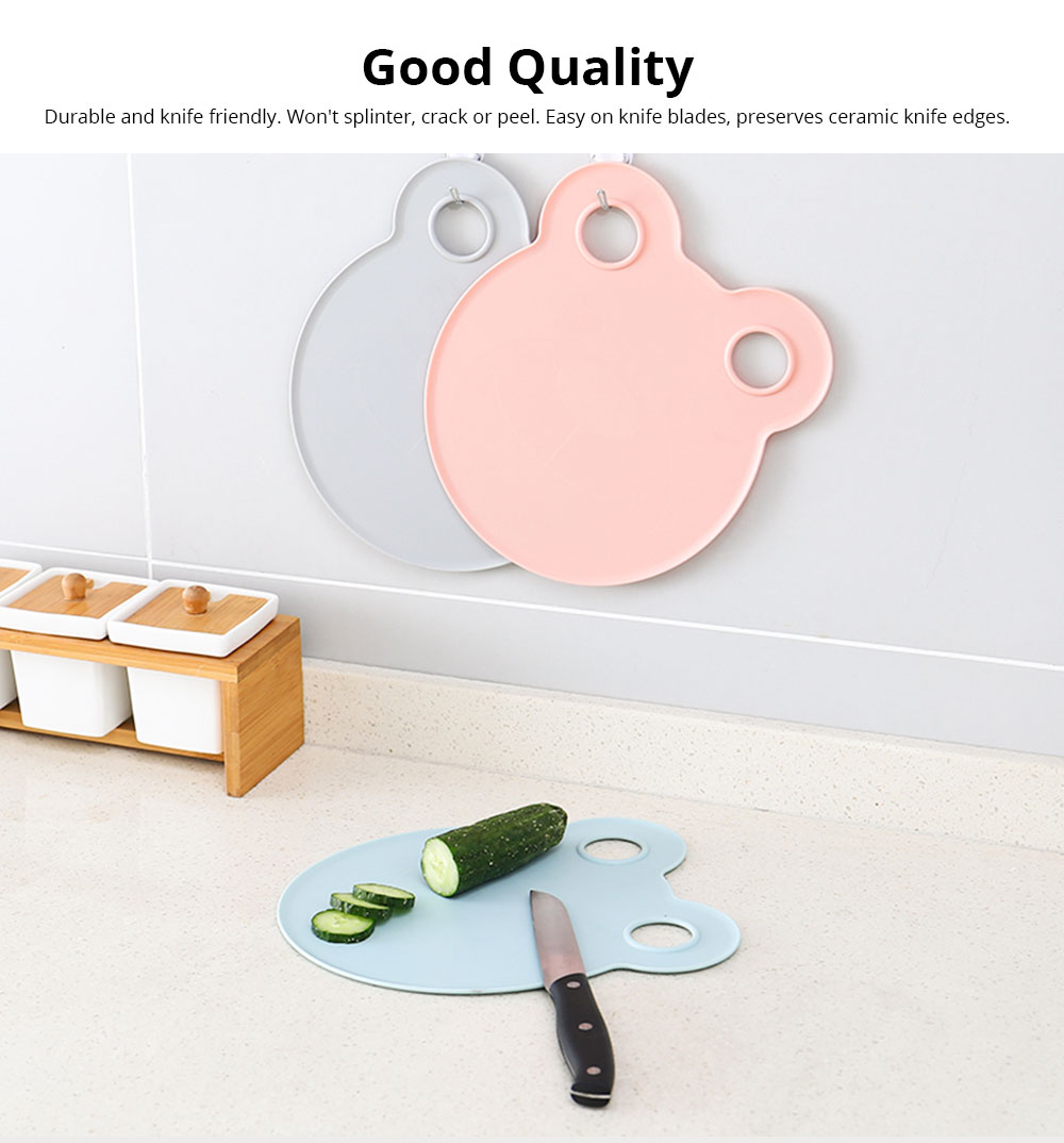 Cartoon Cutting Board Non-slip Anti-Bacterial PP Plastic Chopping Board for Meat Fruit and Vegetable 5