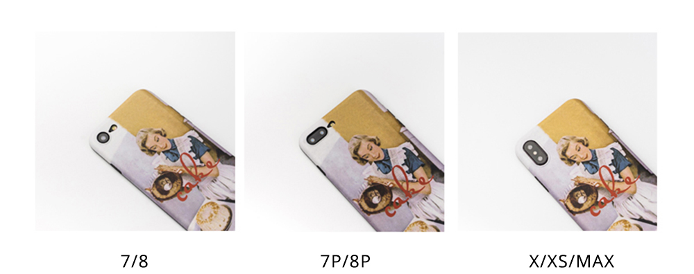 Oil Painting iPhone Case for 6/6s, 6p/6sp, 7p/8p, X/XS, XR 5