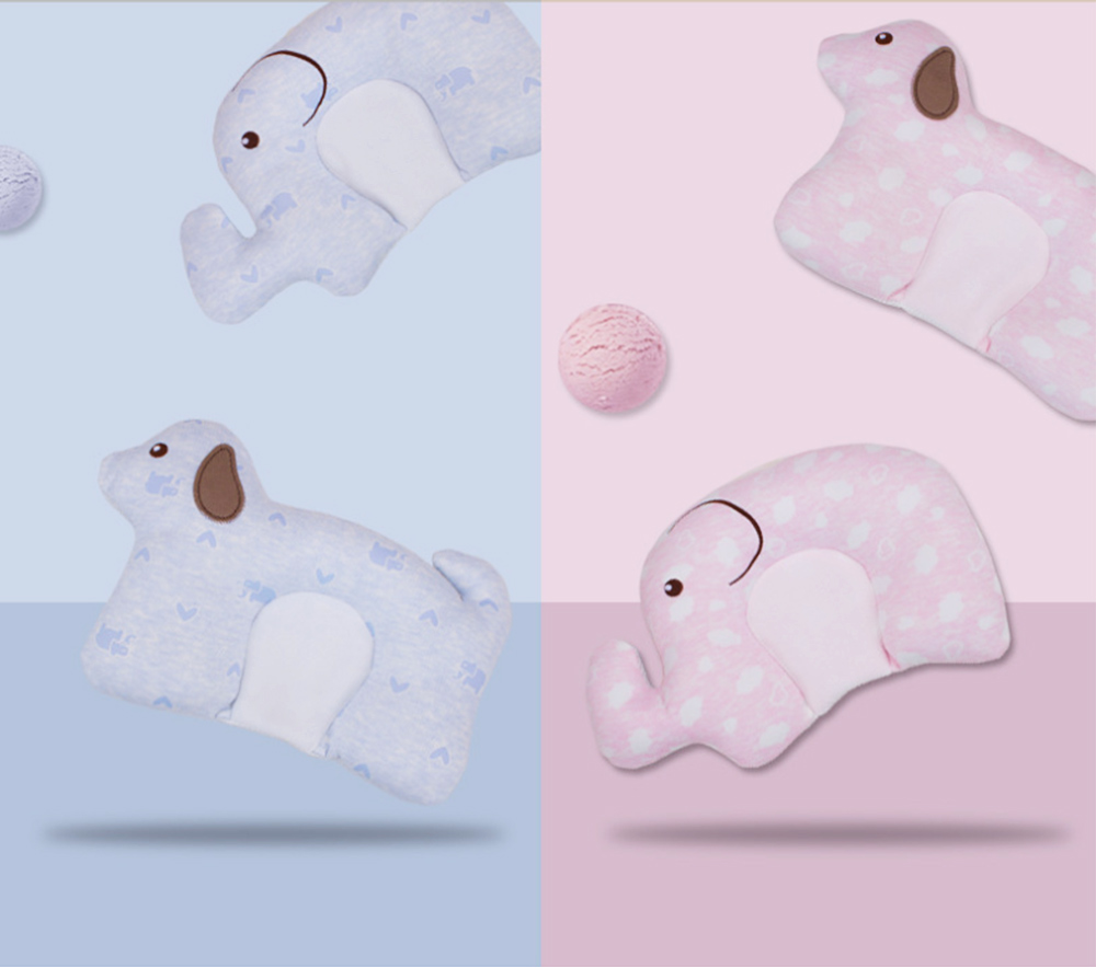 New-designed Head-shaping Pillow for Baby, U-shaped Pillow Made of Milk Silk, Children Pillow for Correcting Plagiocephaly 8