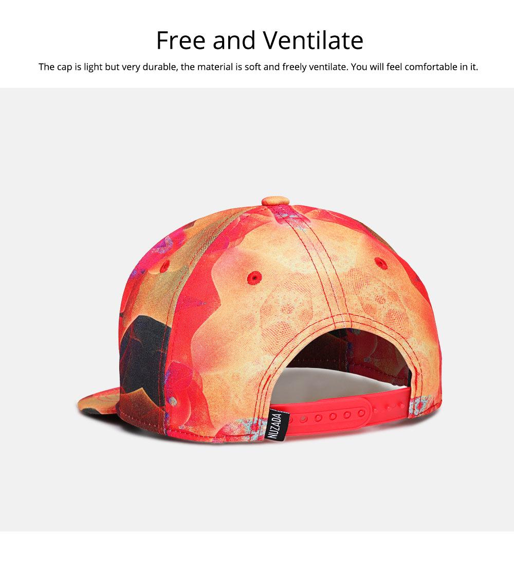 Fashion Flat-Brimmed Baseball Cap for Woman, Men's Street Dance & Hip-hop Cap 5