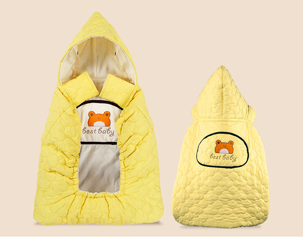 Thickened Baby Cartoon Cloak, Windbreak Cloak for Going Outside, Cape Coat for Newborn Children 5