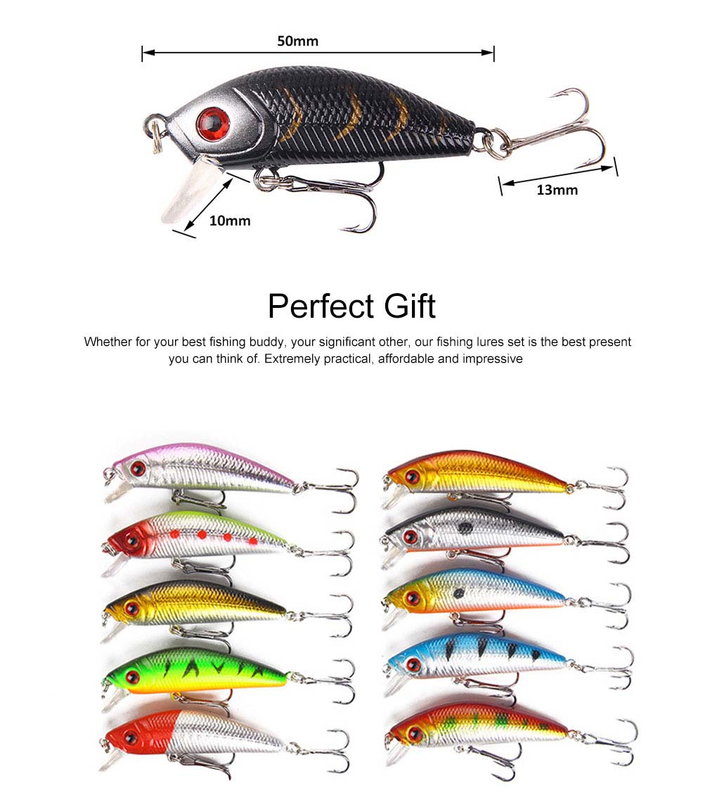 43 Outfit Fishing Lures with Various Style and Variety of Shape, Silicone Baits, Attractants for Saltwater and Freshwater 5